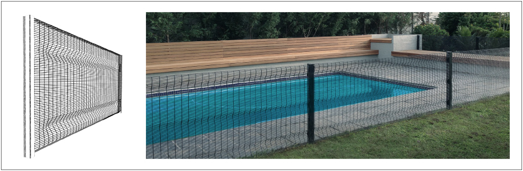 Pool Fence Clearvu Invisible Wall